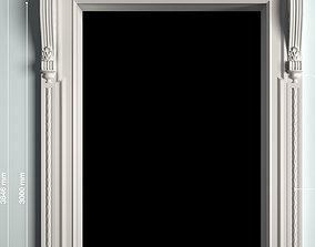 cnc door processing 3D asset