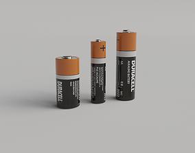 3D AA Duracell Battery