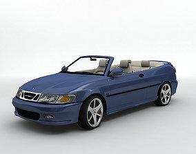 2000 SAAB 9-3 Convertible 3D