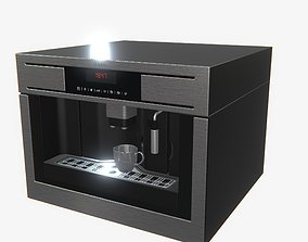 3D model Highly detailed Coffee Machine AEG PBR