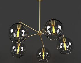 glass 3D model Sculptural Glass Globe