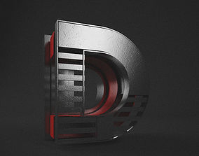 Meed Abstract Alphabets 3D