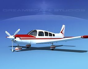 3D model Piper Cherokee Six 300 V01