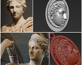 3D printable model Diana Pendant traditional