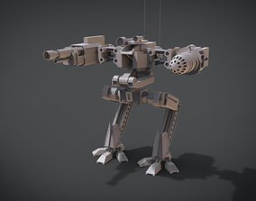3D printable model 2 Side Mecha