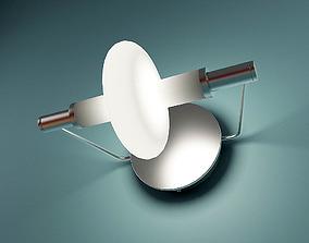La Luce Ruota Wall Lamp 3D