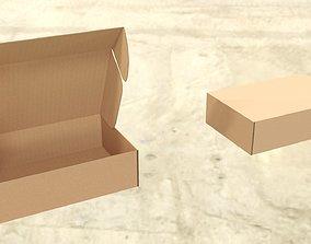 3D asset various-models Cardboard box mail