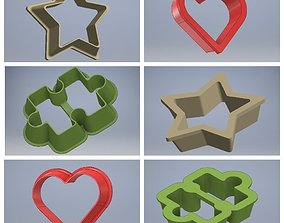 COOKIE CUTTER 3D print model star