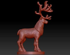 3D print model Reindeer dear mammal animal north american