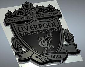 liverpool logo 3d model