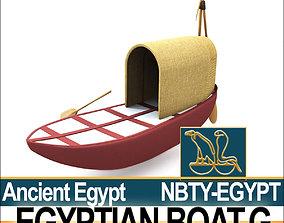 Ancient Egypt Boat G 3D model