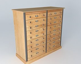 Cabinet NATURALISTE houses the world 3D model
