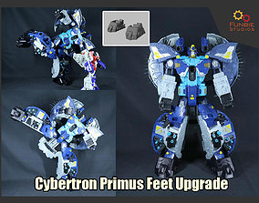 Transformers Cybertron Primus Feet Upgrade 3D print model