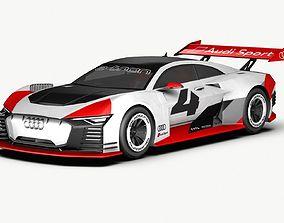 3D model 2018 Audi e-tron Vision GT