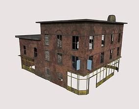 Abandoned House 03 3D model