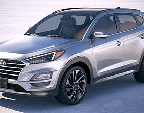 Hyundai Tucson 2018 3D model