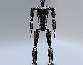 3D model PBR Futuristic Robot