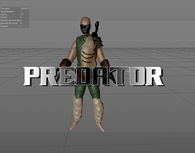Predator V3 3D model