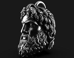 Zeus Pendant V2 Thunder God 3D print model