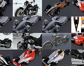 3D model Vehicles Collection