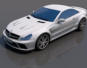 Mercedes SL65 3D model