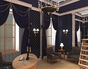 Cabinet Neoclassic 3D