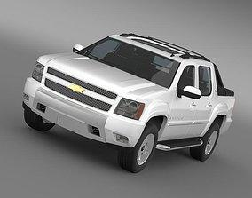 Chevrolet Avalanche Z71 2010 3D model