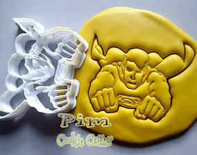 Super man Cookie cutter 3D printable model