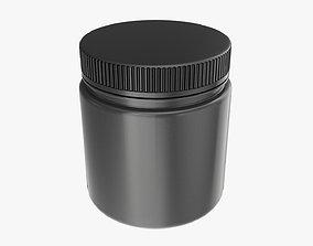 Plastic Jar Mockup 11 3D model