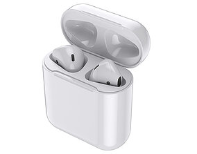 Apple Airpods 3D model container