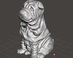 3D printable model Hollow Saggy Puppy