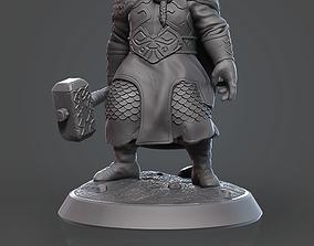 3D printable model Dwarf miniature board game
