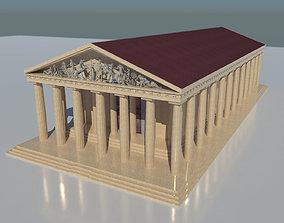 3D asset The Parthenon