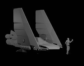 Fighter Craft 3D print model