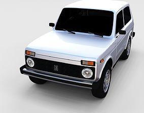 3D Lada Niva rev