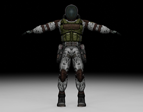 Stalker - Monolith Soldier 06 3D asset