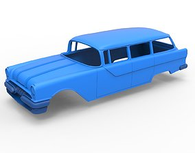 Diecast shell Oldschool car Scale 1 to 24 3D print model