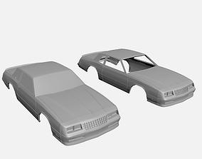 Chevrolet Monte Carlo SS 1986 3D print model
