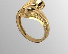 3D printable model wedding Ring 14