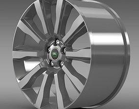3D model RangeRover Supercharged rim