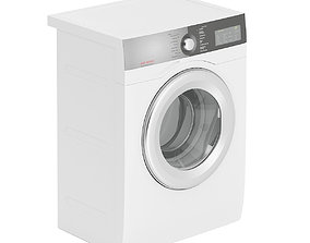 Washing Machine 3D animated