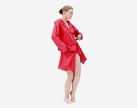 Raincoat 002 3D model