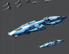 Battleship - medium ship 03 3D