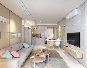 KH Apartment Livingroom 3D