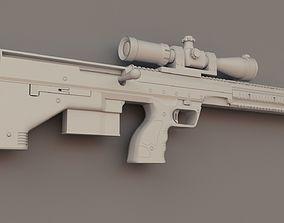 3D asset DTA SRS Sniper