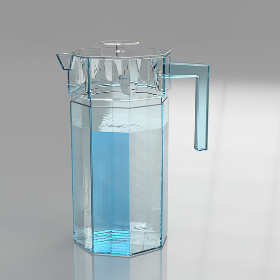 Glass Jug