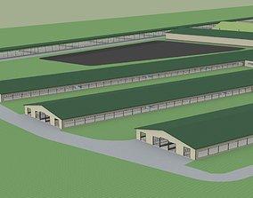 3D 2000 Head Dairy farm