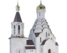 3D model Church Of St Nicholas The Wonderworker