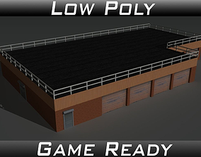 Factory Building 15 3D model