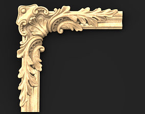 Frame Relief 2 3D model wood